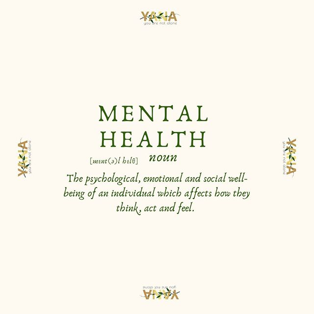 WHAT IS MENTAL HEALTH?  Mental Health is the psychological, emotional and social well-being of an individual which affects how they think, act and feel.  What is Mental Health to you ? Comment below or engage in our story !  #Mentalhealth #wellbeing #emotional #psychological #social #individual #youngadults #youarenotalone #yanacollective #yana