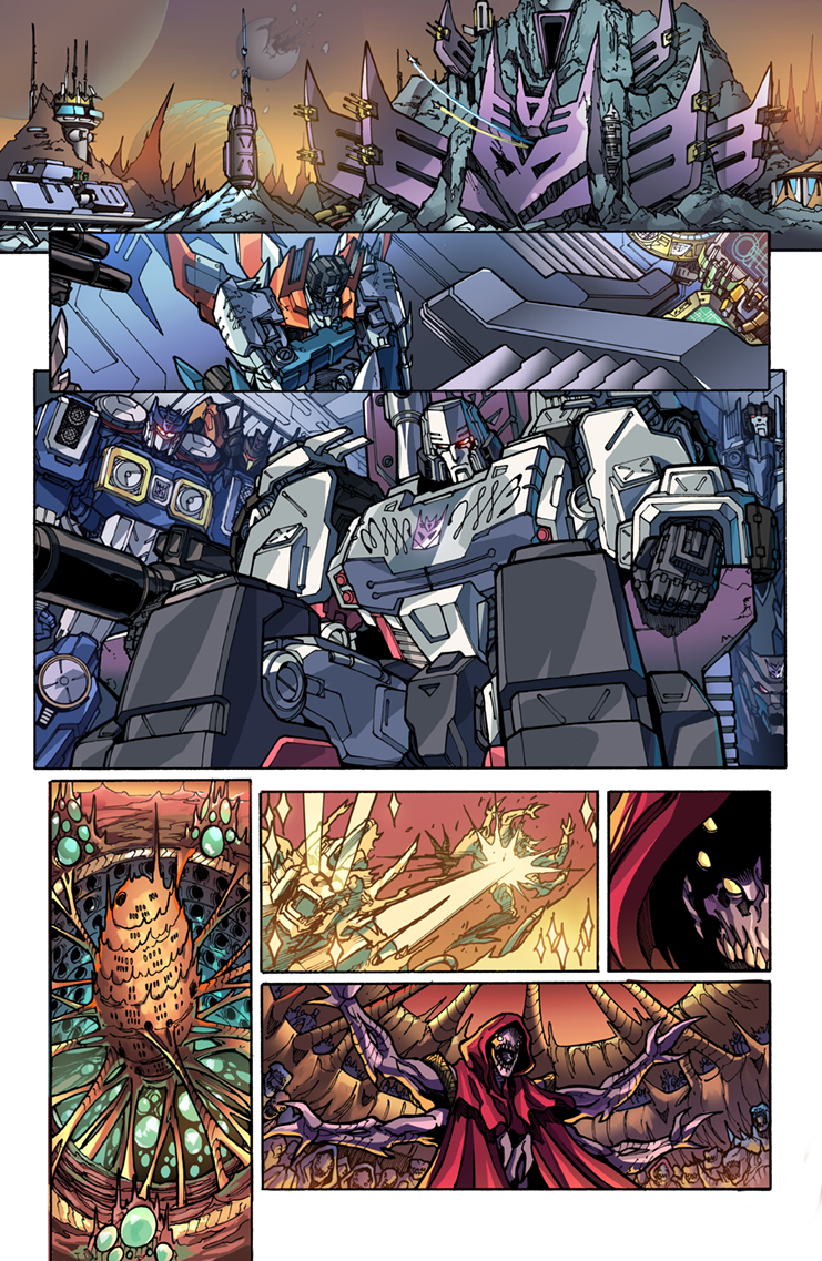 Rom vs Transformers #5, IDW