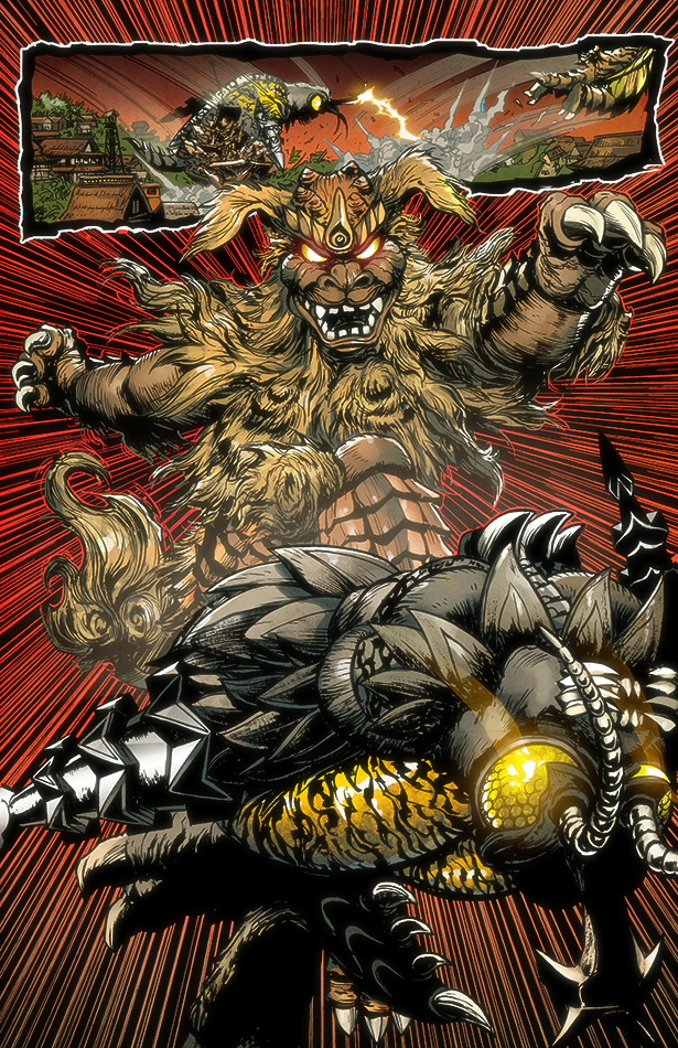 Godzilla Rulers of Earth #9, IDW
