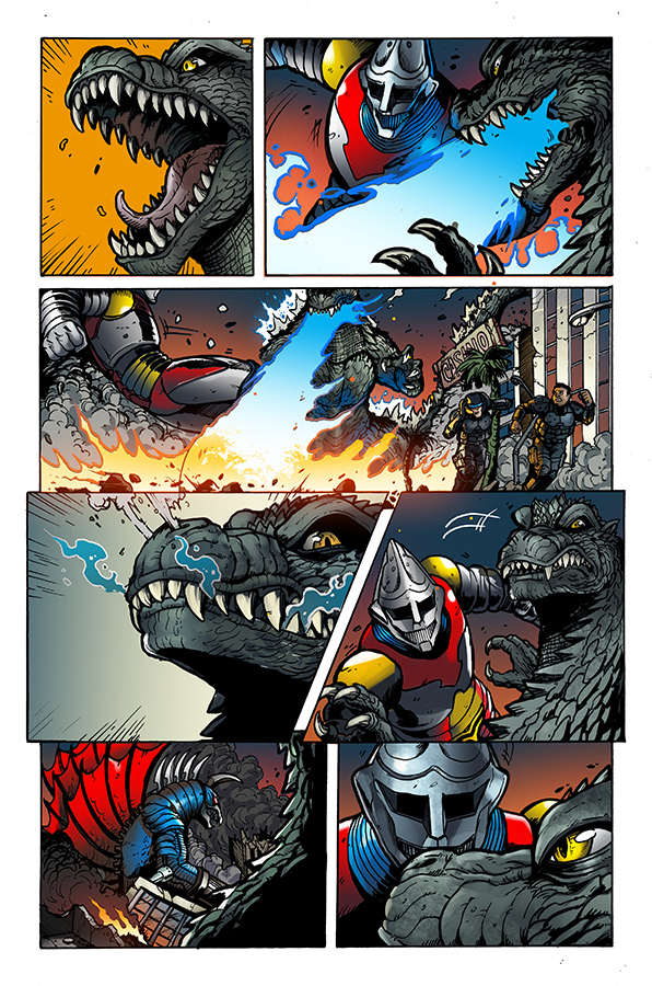 Godzilla Rulers of Earth #7, IDW