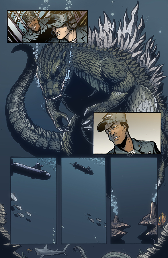 Godzilla Rulers of Earth #11, IDW