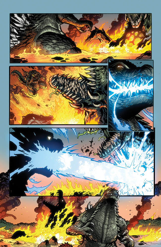 Godzilla Rulers of Earth #8, IDW