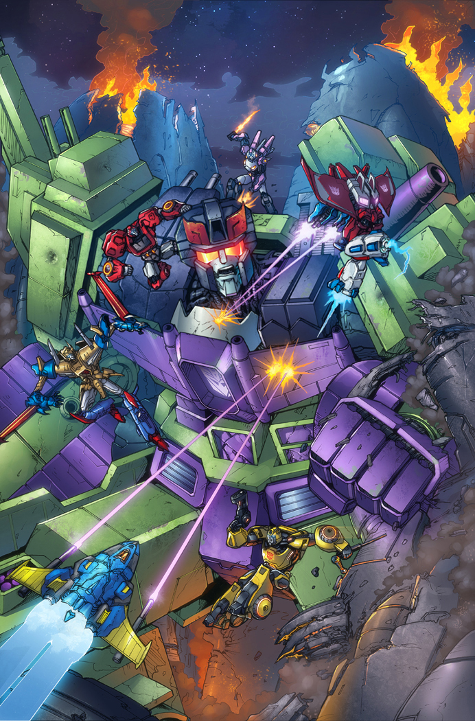 Transformers RID #16 cover, IDW