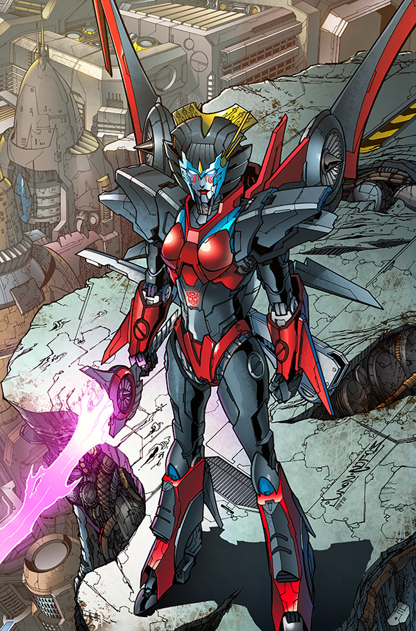 Windblade #2 sub cover, IDW