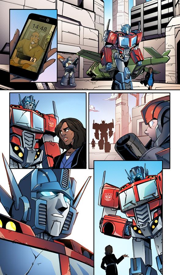 Optimus Prime #7, IDW