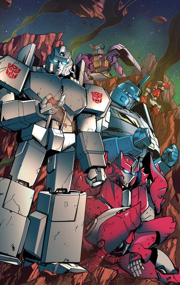 Optimus Prime #23 cover