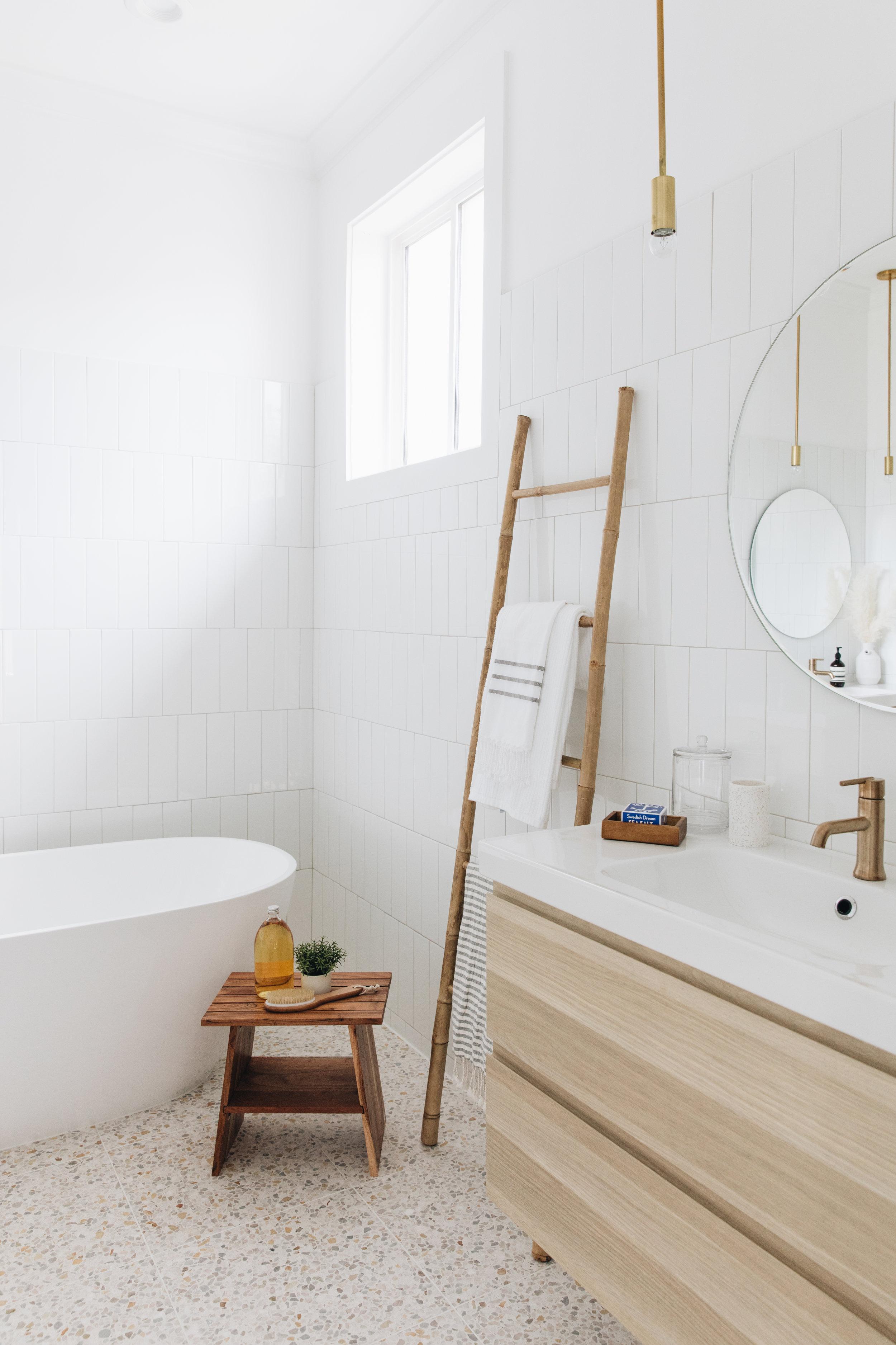 Decorative Ladder (similar)    Turkish Towels