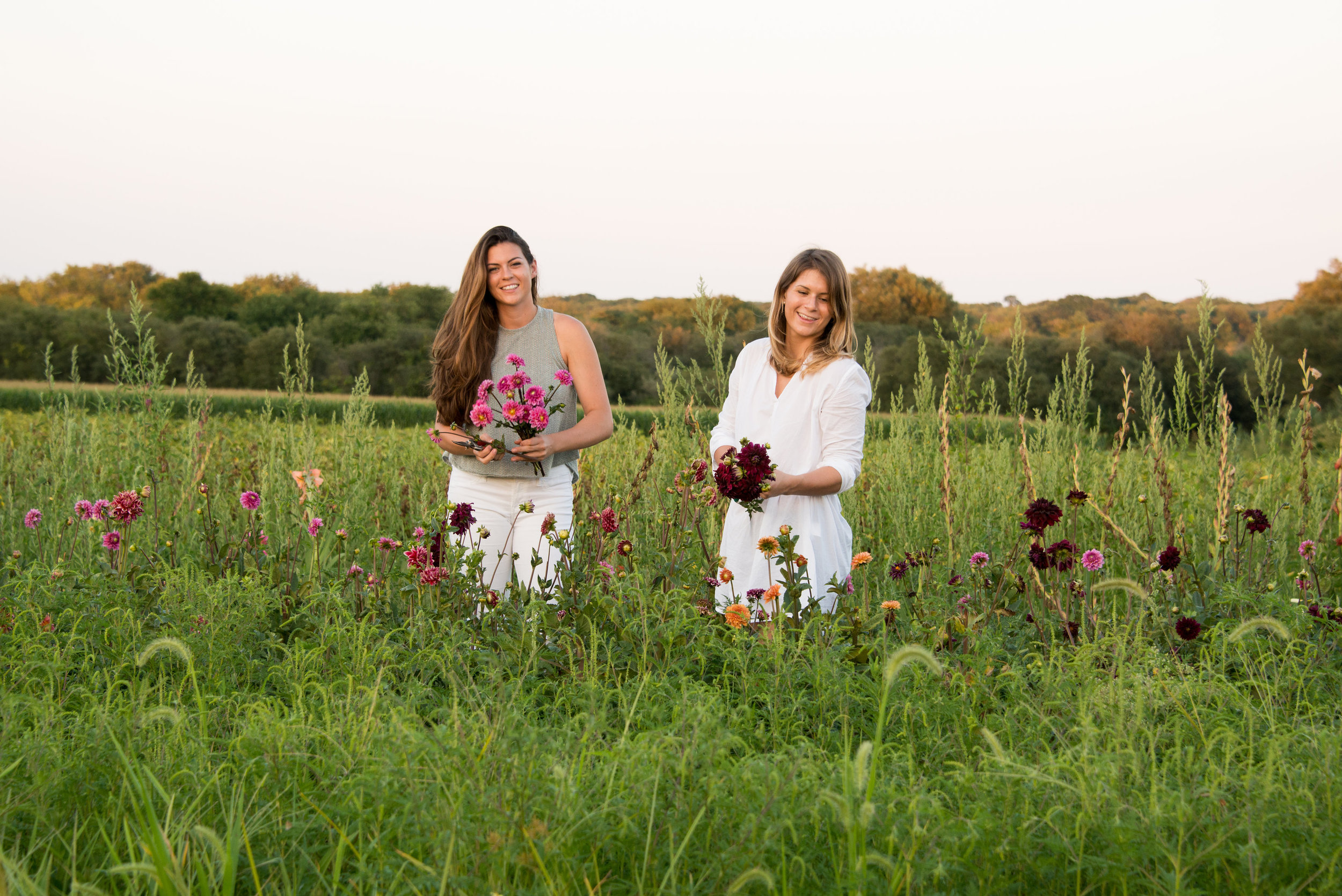 Our Story - Hattie and Sarah grew up on a farm in Little Compton, Rhode Island. Their summers consisted of working for their parents...