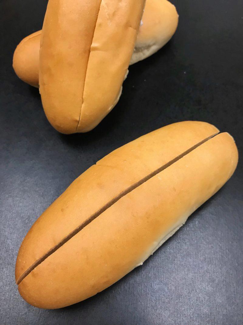 Hot Dog Bun Top Slice. Lobster Roll.JPG