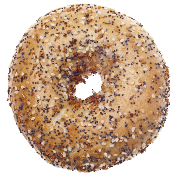 - - BAGELS -EverythingPlainWheatBlueberryCinnamon RaisinOnion*Our bagels are baked and do not contain dairy