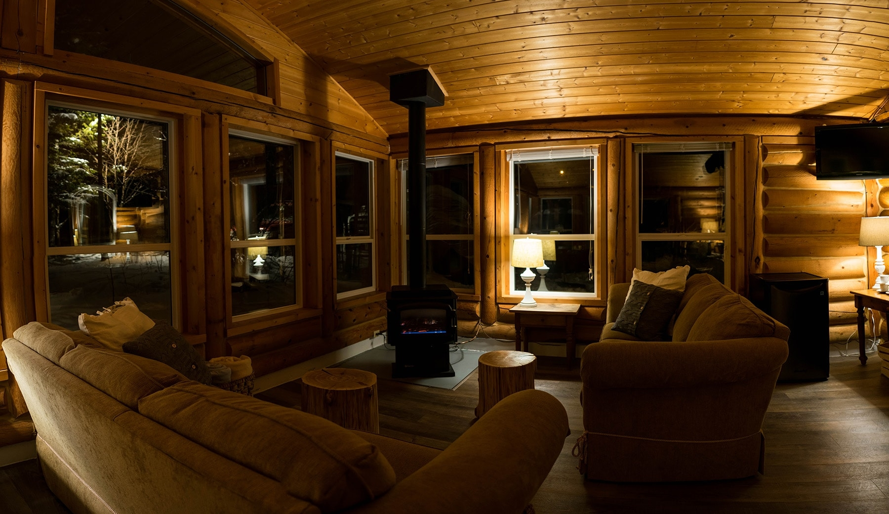 Common Room at Whitewater Lodge