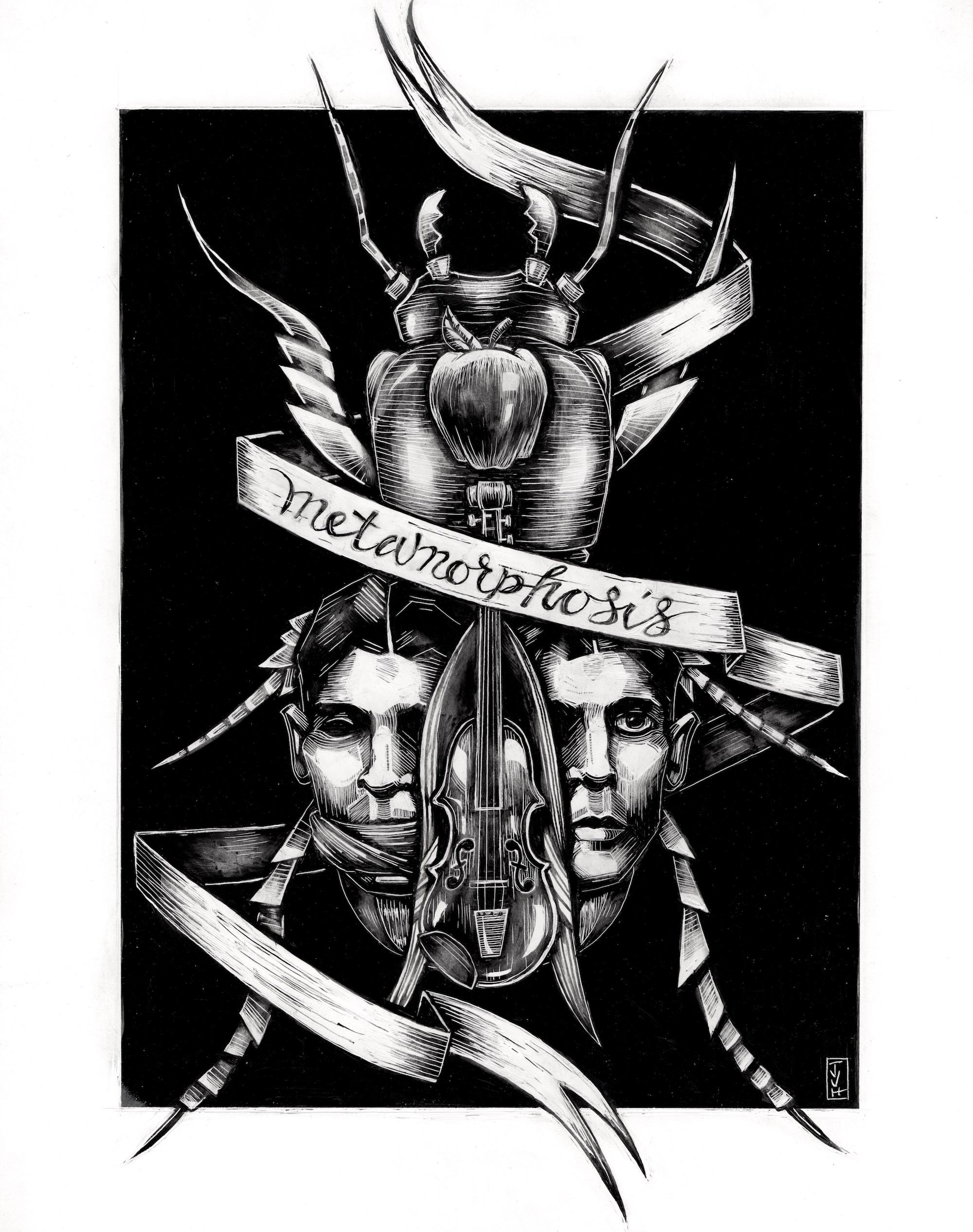 Metamorphosis (literature illustration)