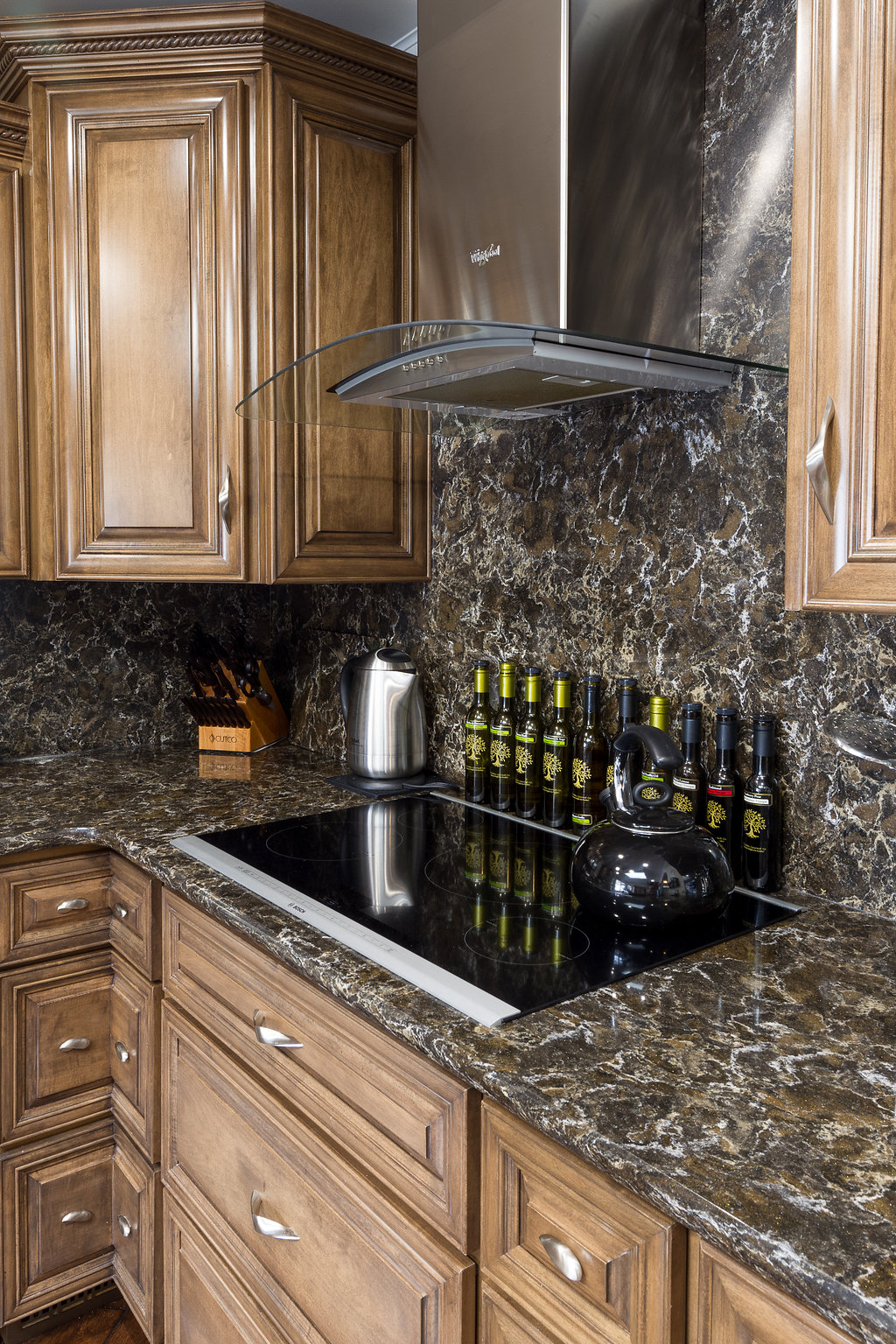 Counter Stove Top with Range