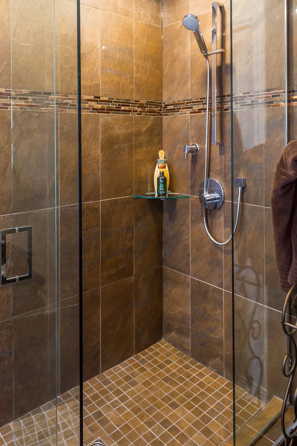 Full Glass Walk-In Shower