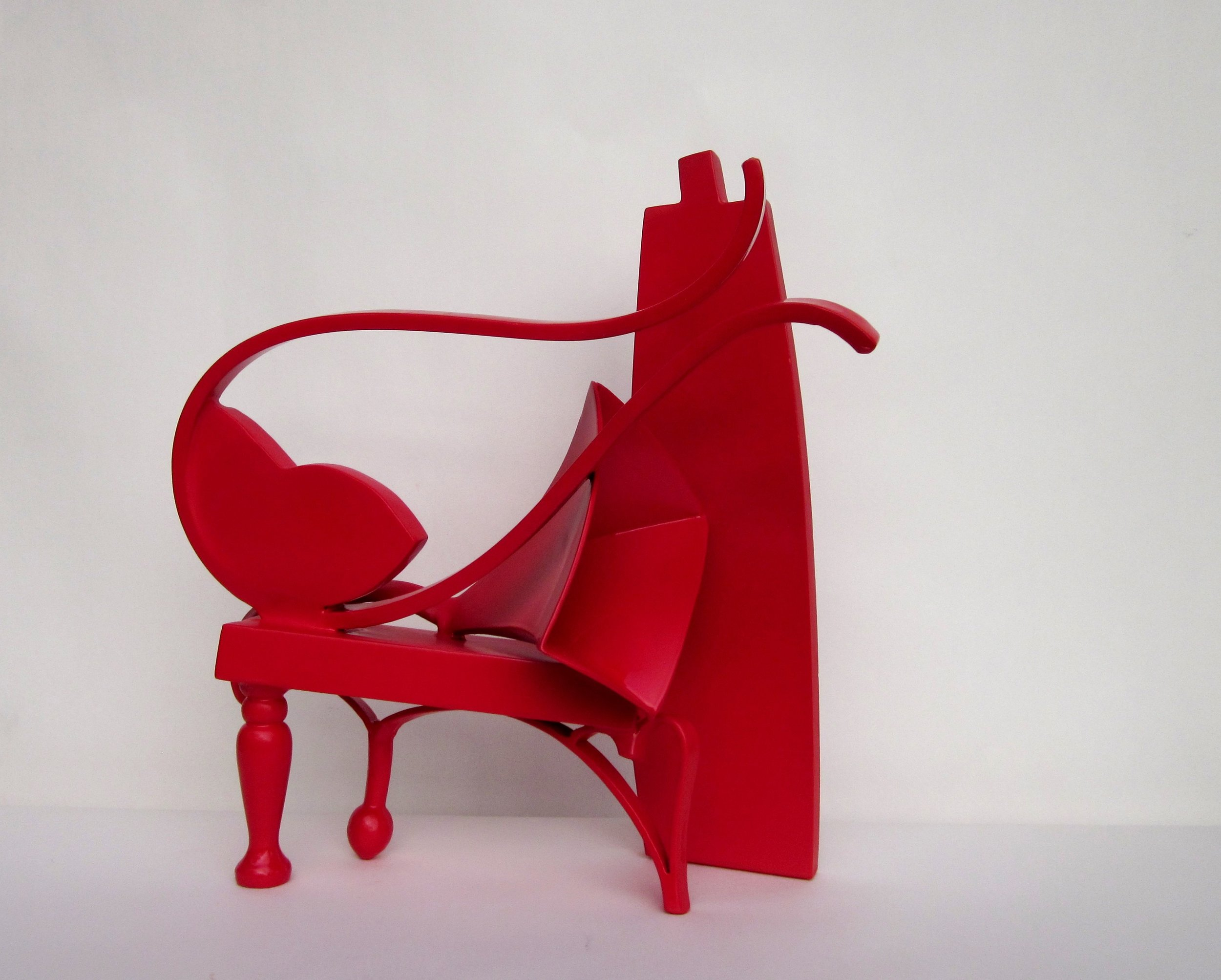 Philip Spelman - Red Trumpet Red Table -