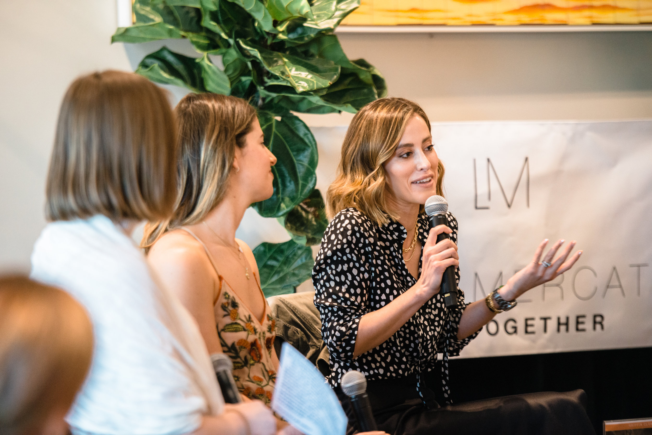 Dr. Sarah Oreck was a guest speaker at a Wellness Weekend organized by Local Mercato at the Griffin Club discussing hormone health.