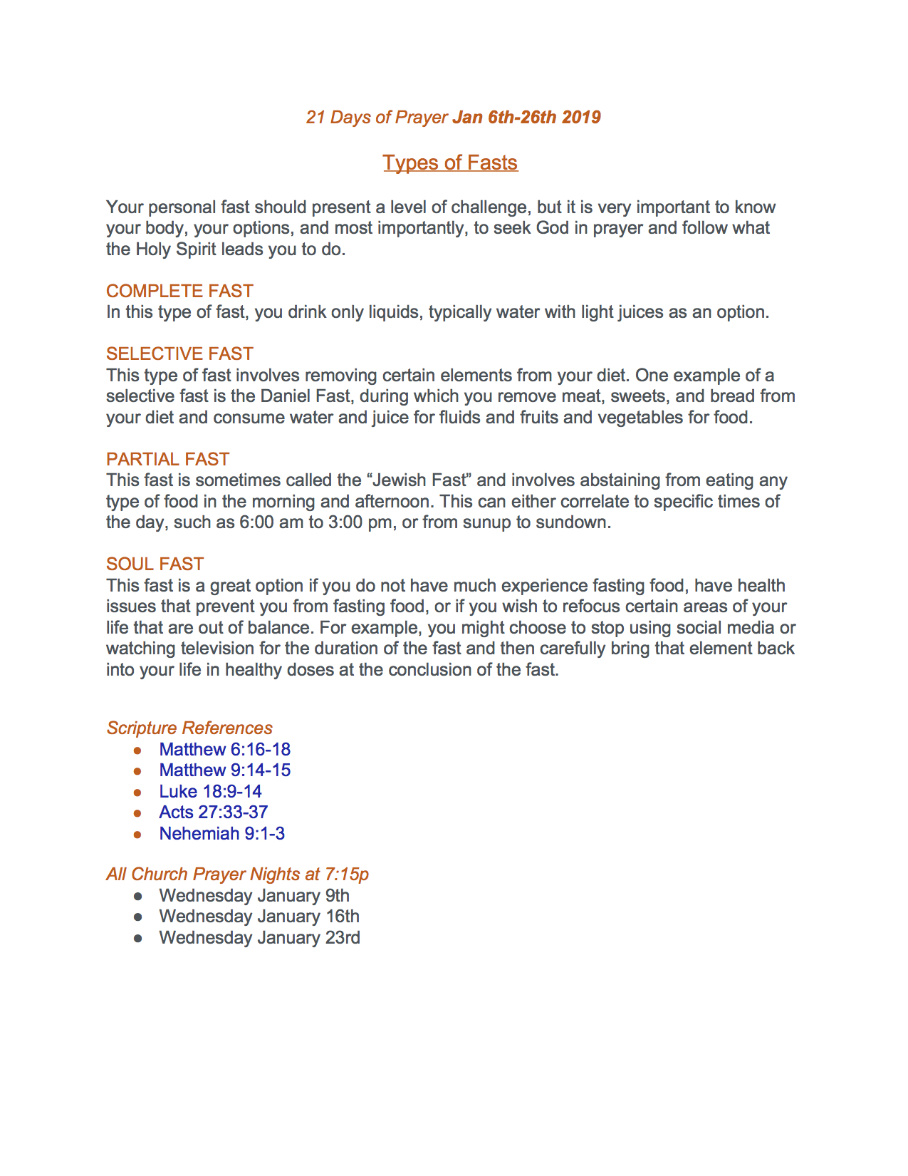 21 Days of Prayer Jan 6th-26th 2019_ Types of Fasts.jpg