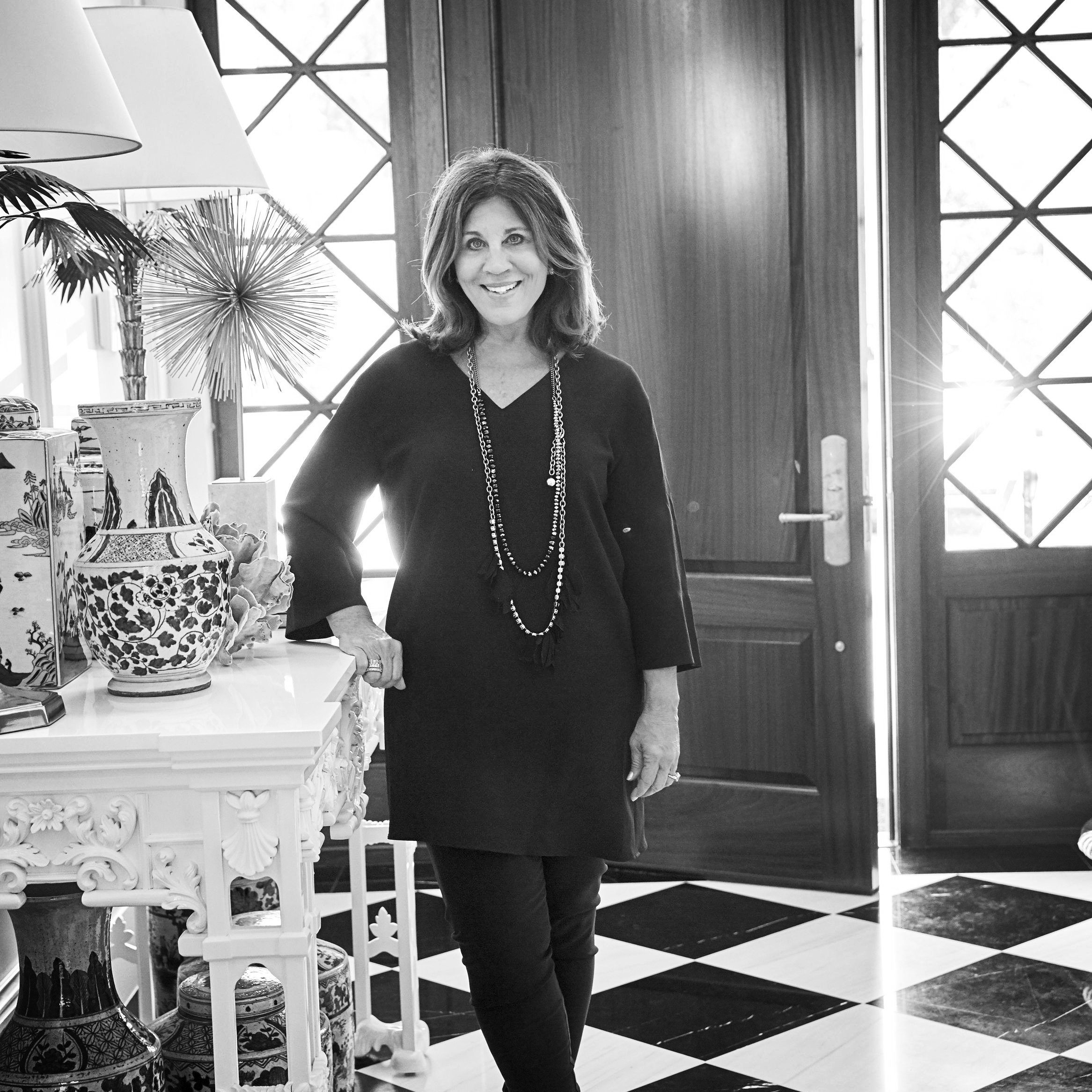 """Suzanne Kasler   Suzanne often asserts that """"a room should be collected, not decorated"""". Incorporating the personal collections of her clients with fine art and antiques, contemporary pieces and custom-designed furniture, Suzanne's meaningful interiors straddle that rare middle ground between sophisticate and ingénue."""