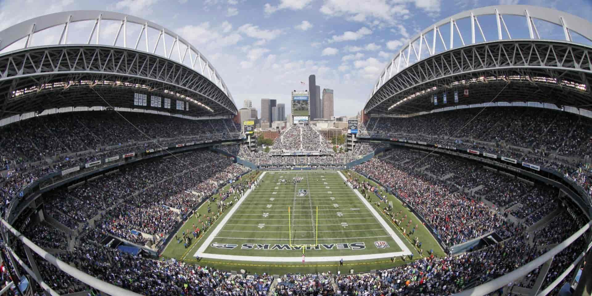 Club Level Stadium Experience. Two tickets and parking pass for Seahawks game.