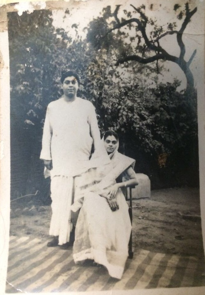 My grandparents as young newlyweds