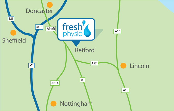 Fresh Physio Ltd Chartered Aquatic Physiotherapy - Ordsall Lodge, London Road, Retford DN22 7JG