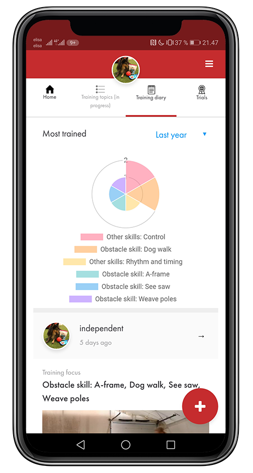 Keep a training diary to see what you have really trained - By adding your training sessions to the training diary you✓ Keep your course maps, videos and notes in good order✓ Get statistics of what you have actually trained. ✓ Compare the data to what you have prioritised in your training list and see if you've focused on the right things!