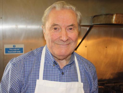 Ray Bennett - In house butcher/carvery top gun    1939 - 2018 RIP.
