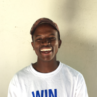 Molefi Qejoang - Molefi used to think rugby was just for big men, until Coach Roy and the academy visited his school in 2014. Since then he has joined the Maseru Warriors, and loves teaching the LRA children. One of his favourite drills is the boys versus girls relay, as you never know which team is going to win!