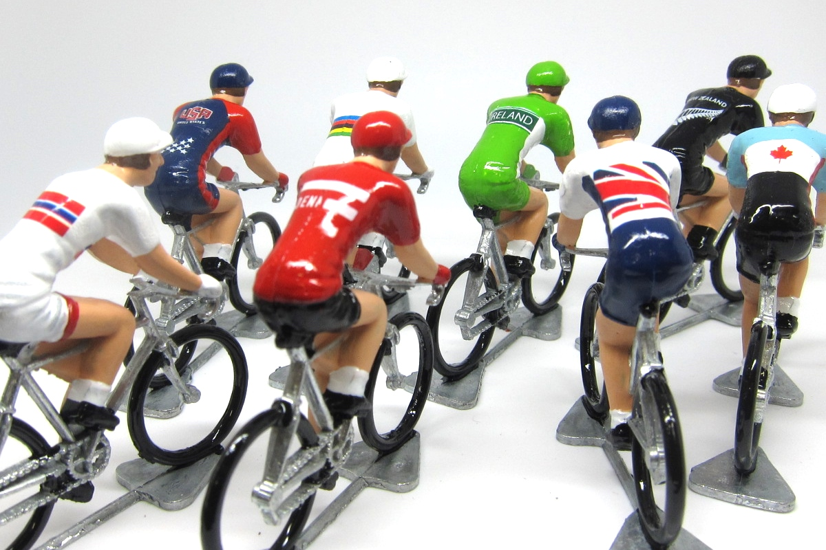 THE MODEL CYCLIST - DIE-CAST CYCLING MODELS