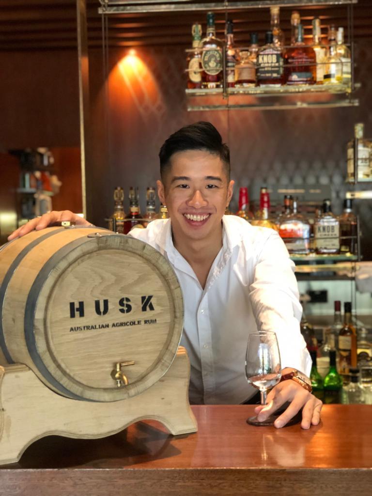 Proud new dad (to a barrel), Adam Lau