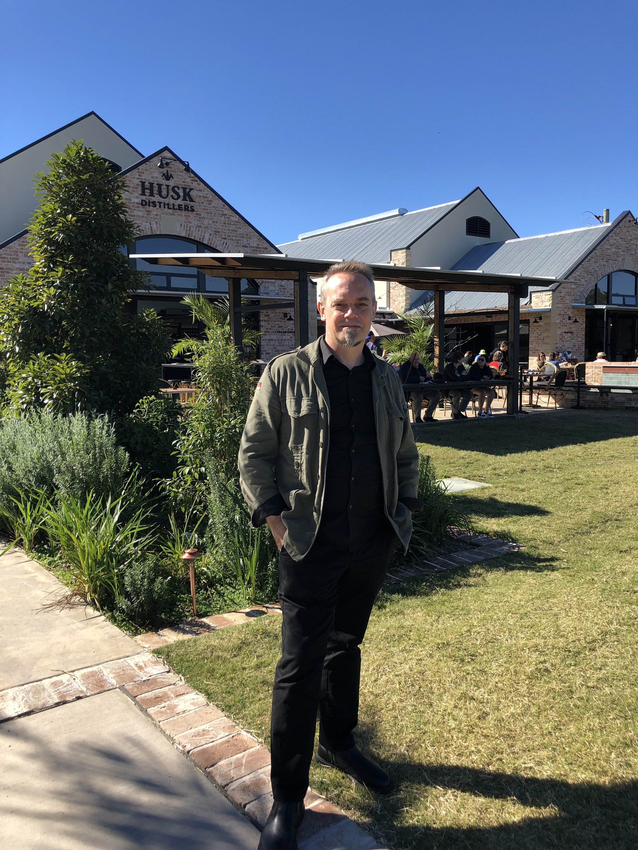 Duncan Gibbs, landscape architect