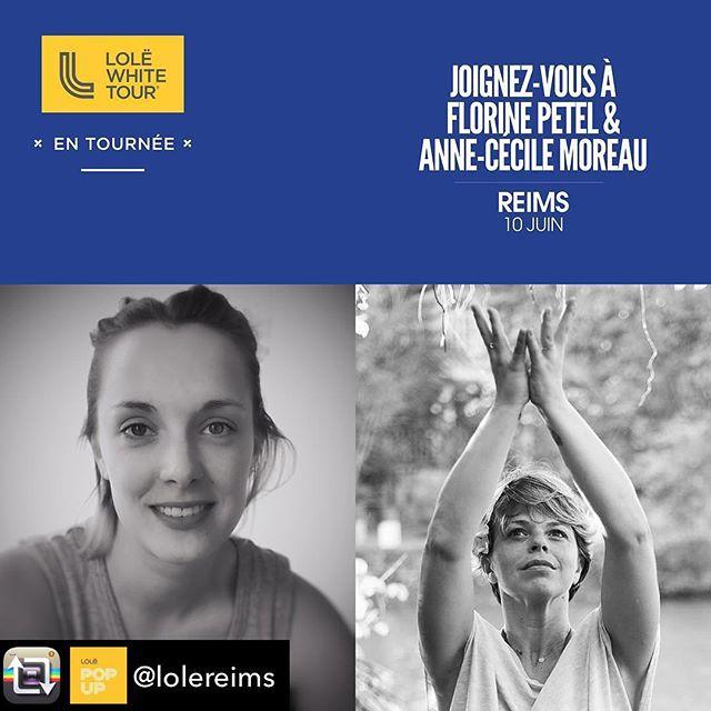 Avis à tous les yogis rémois, J'aurai le plaisir d'animer le #lolewhitetour à Reims le dimanche 10 juin dans le domaine des crayeres @myoga_les_crayeres en compagnie de @florin_vini. Inscriptions👇🏻 https://www.eventbrite.ca/e/billets-lole-white-tour-en-tournee-2018-reims-45299958395 #yoga #yogateacher #lolereims #lolewhitetour #gratitude #om
