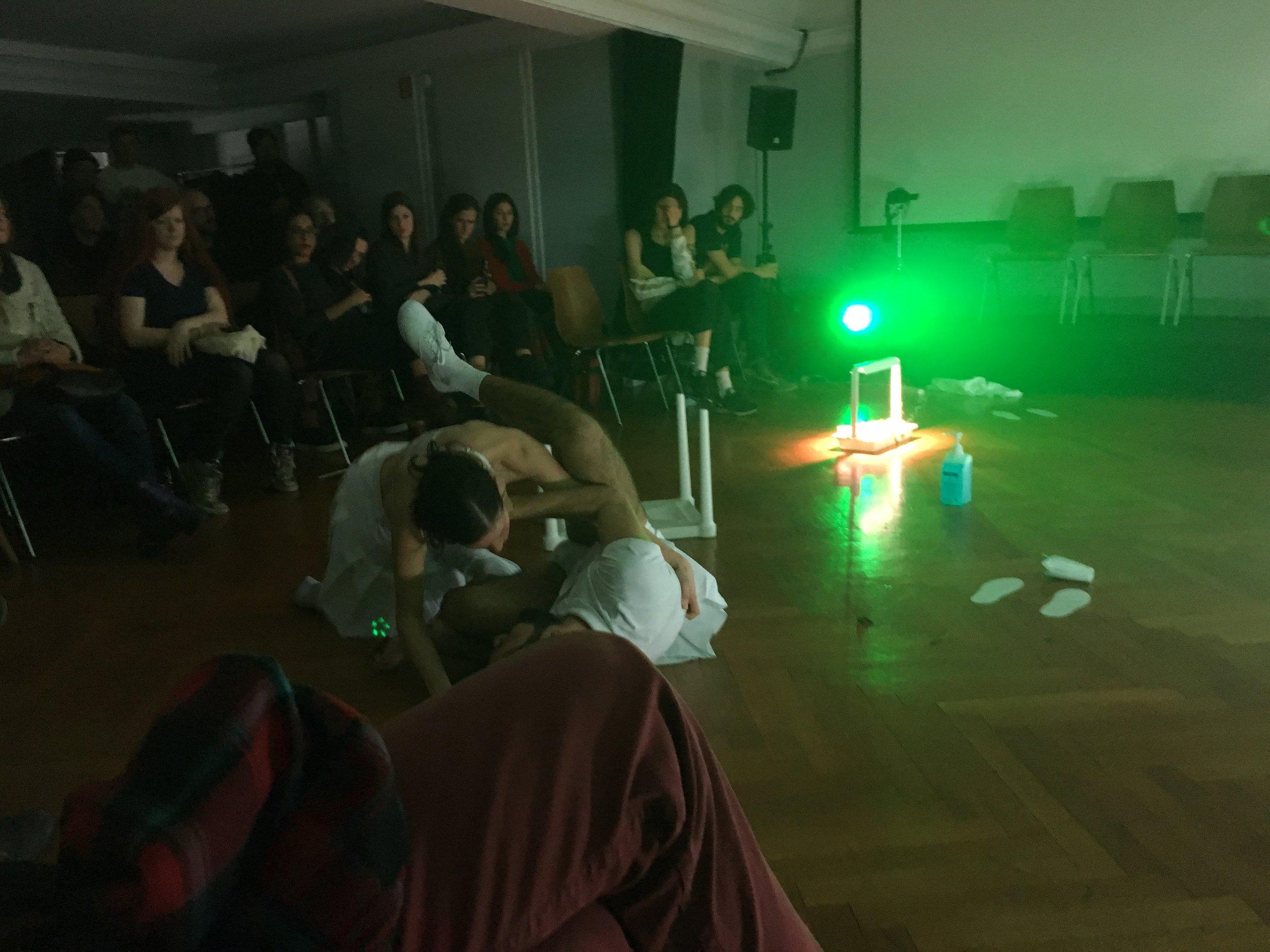 Unplush (Marion Zurbach, Vittorio Bertolli, Matteo Taramelli & Henrry Bonnet ), Playground,  Performance, Impact Hub Bern