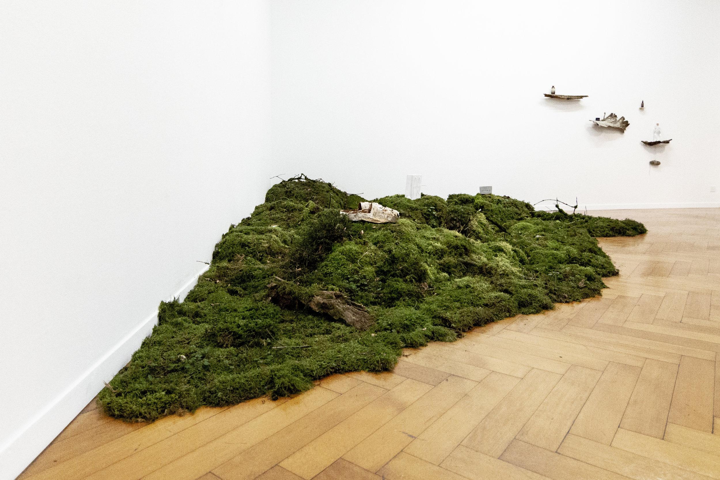 Installation Shot  New Nordic Luxury by SANKE , Reflector gallery, Photo: Jolanda Pfrunder
