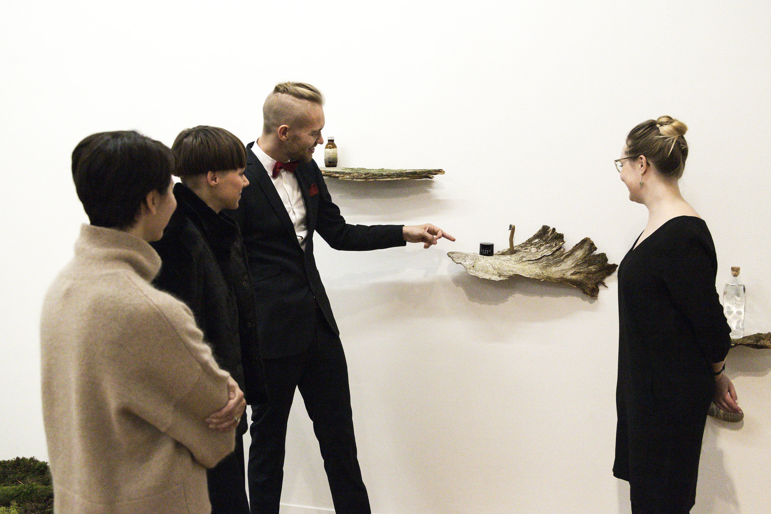 Opening New Nordic Luxury by SANKE , Reflector gallery, Photo: Jolanda Pfrunder