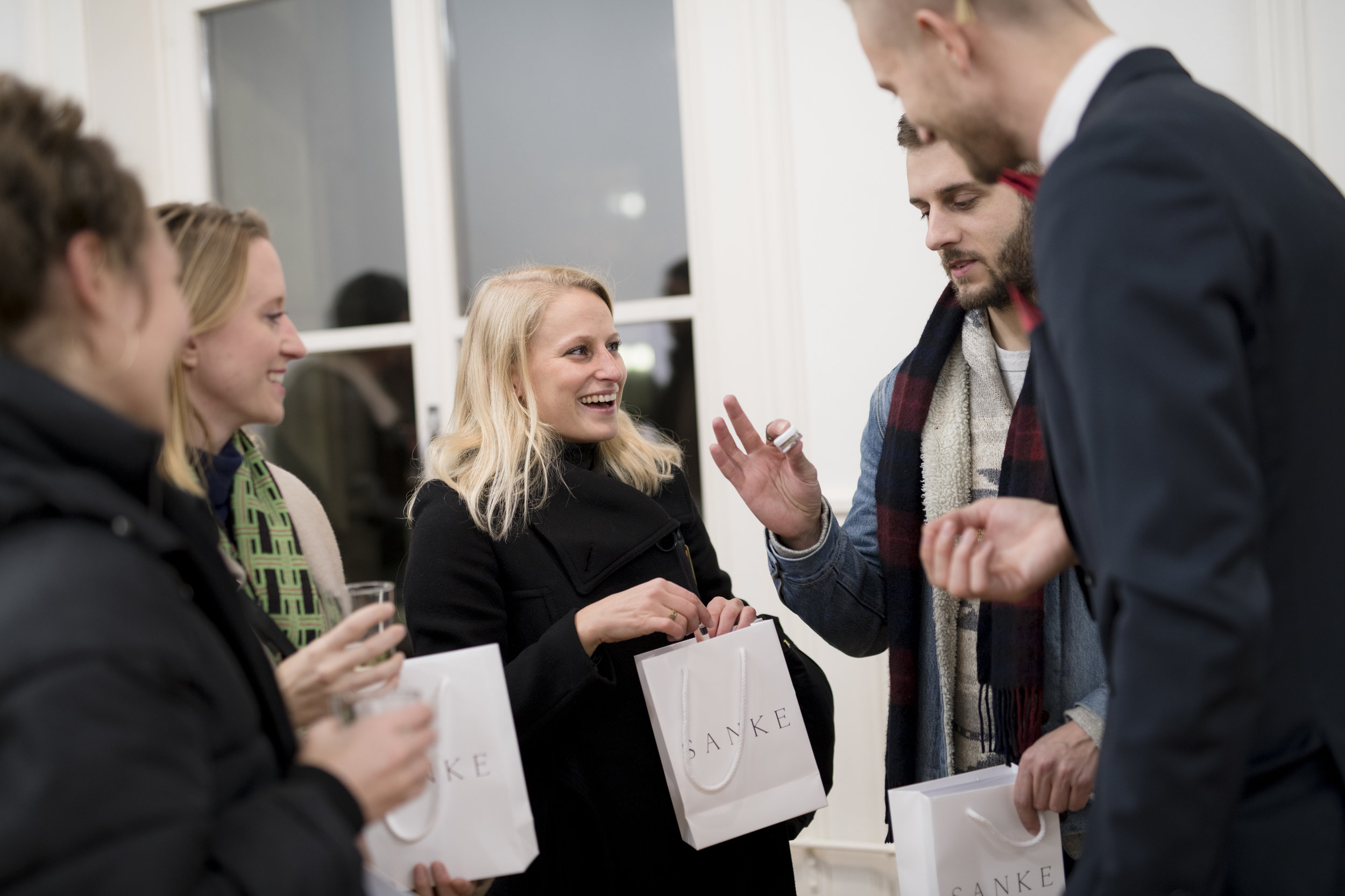 Opening  New Nordic Luxury by SANKE , Reflector gallery, Photo: Siv Dolmen