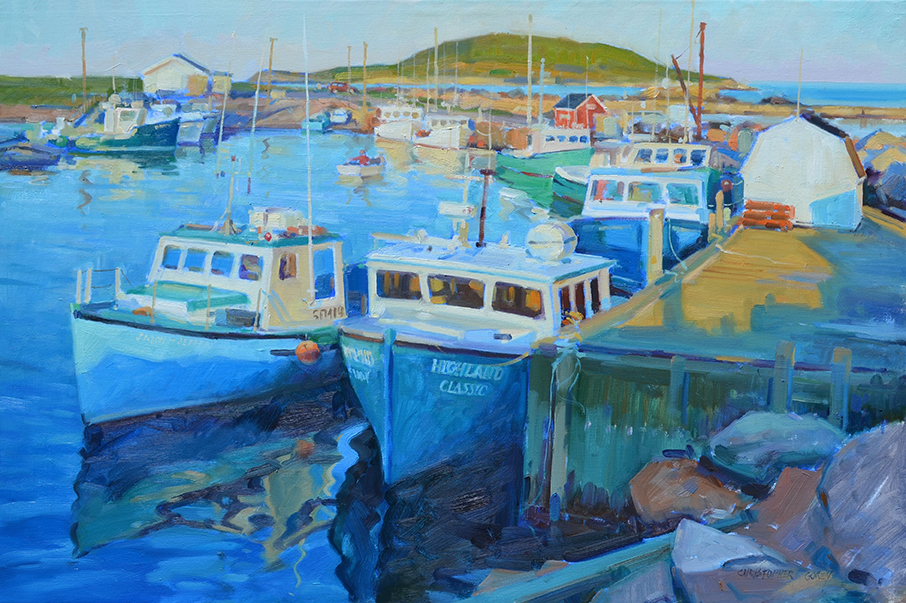 CG - Afternoon Light, Ingonish Harbour.JPG
