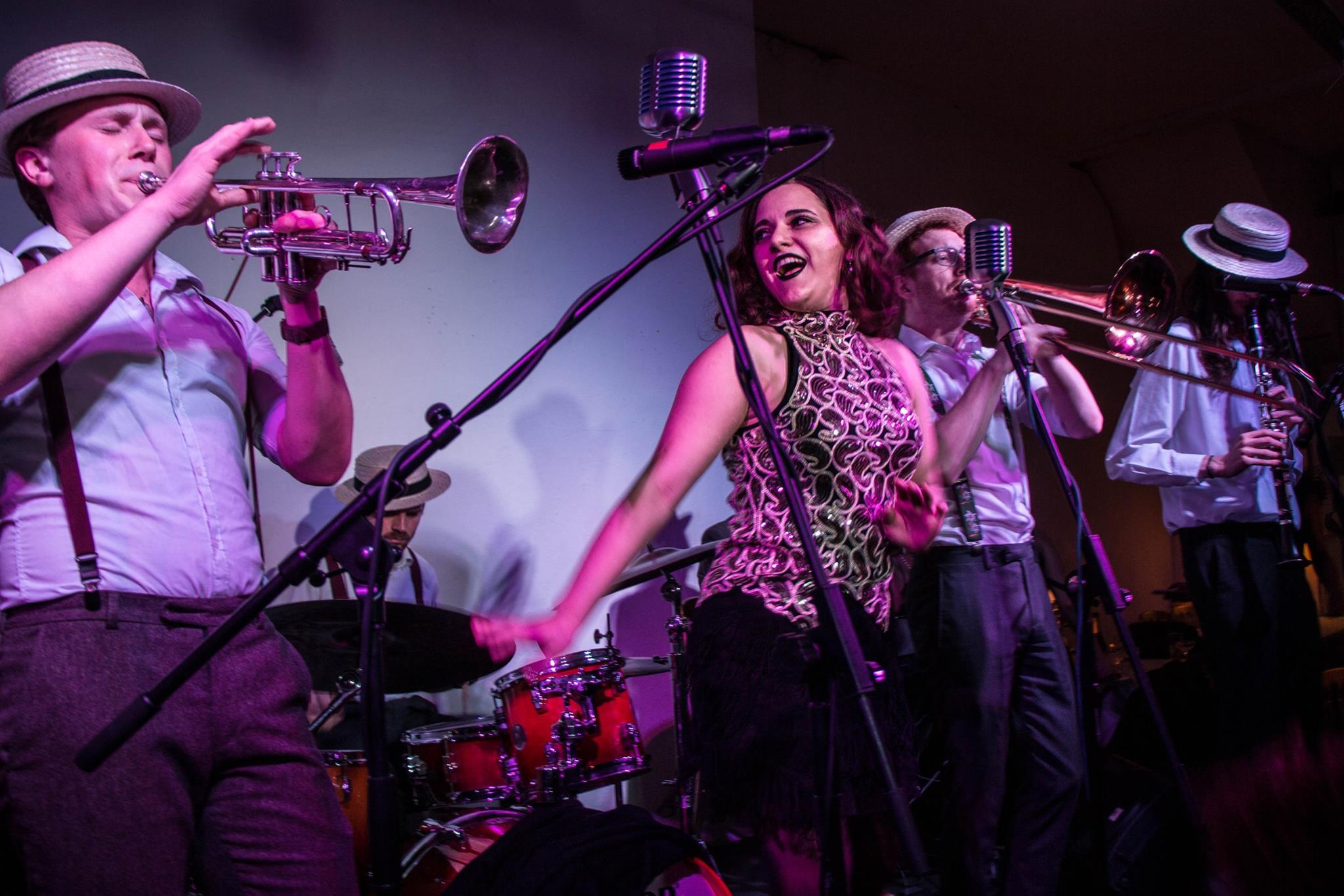 The Swing'It Dixieland jazz band
