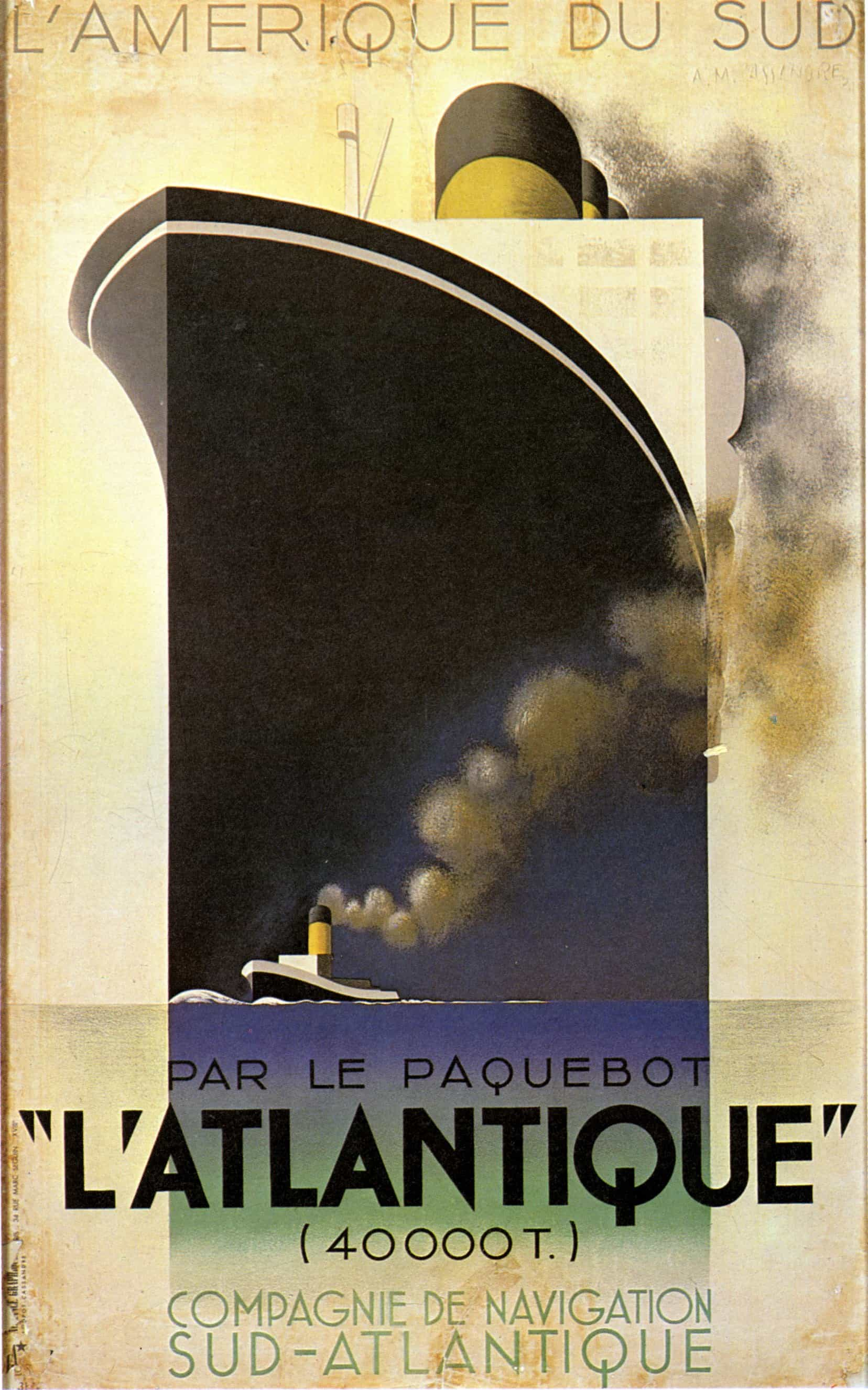 - Travel posters emphasised the size, modernity and luxury of the ships themselves