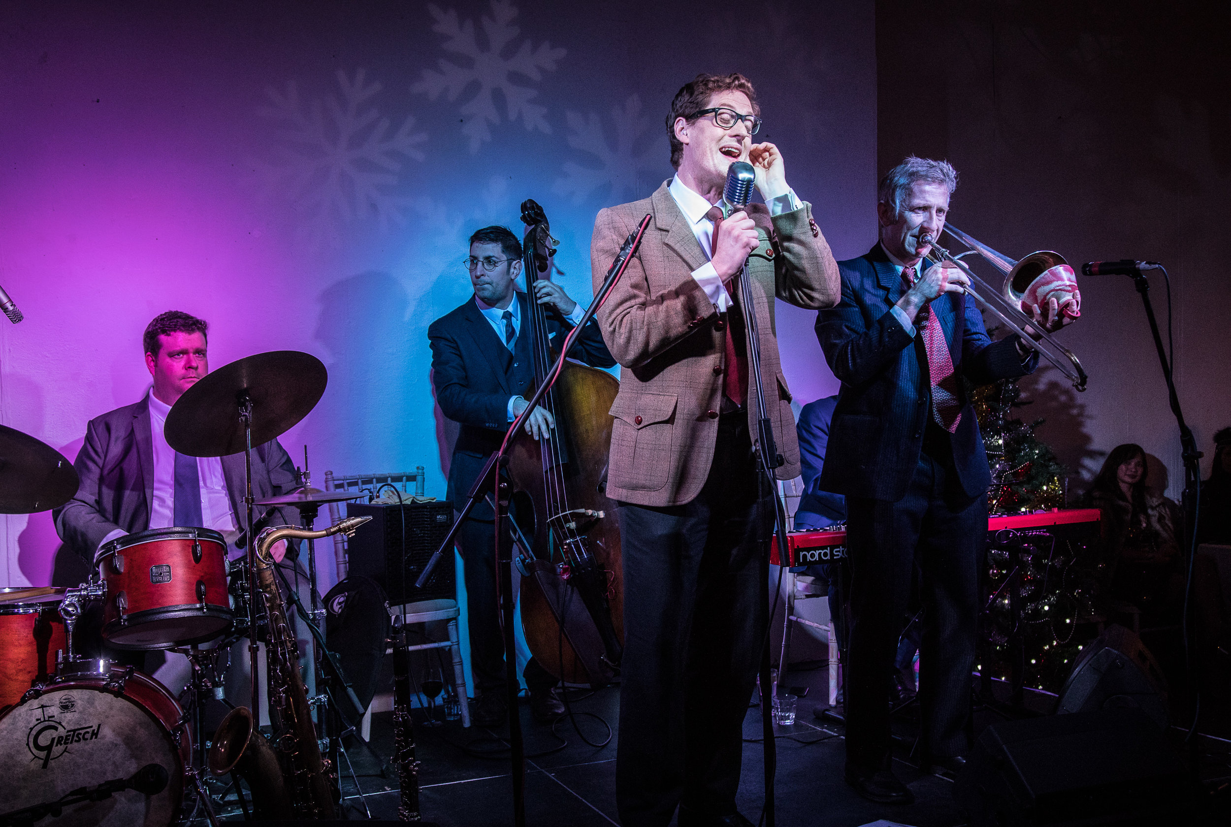 Duncan Hemstock and his All Stars at Christmas