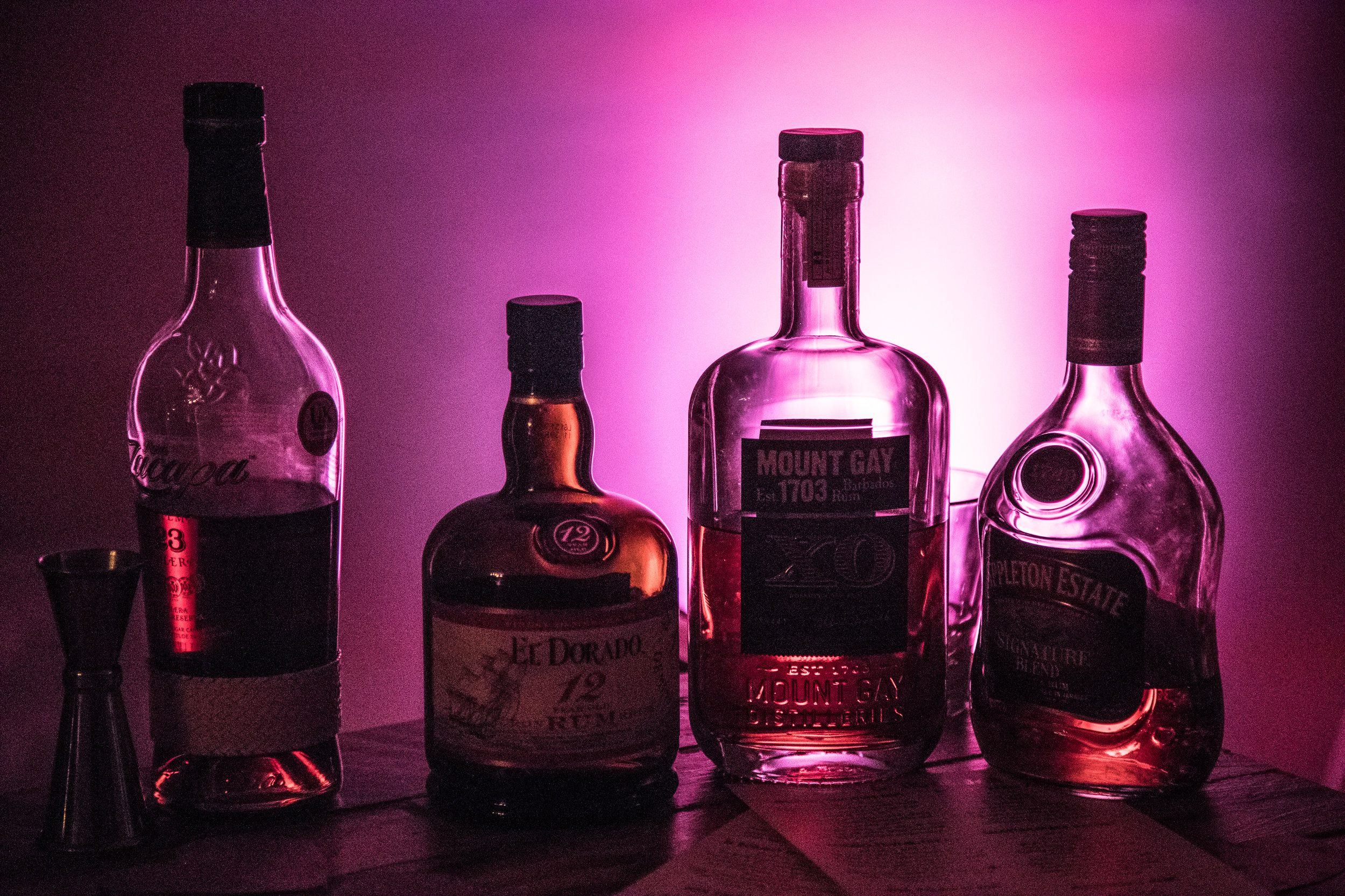 Our rum selection