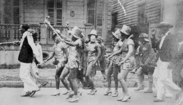 """""""Baby Doll"""" parade, 1930s"""