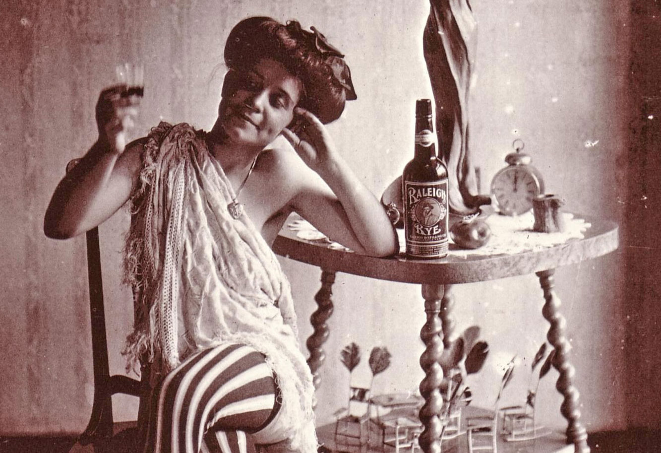 - Prostitute in Storyville, New Orleans, in 1921. Clearly Prohibition wasn't having much of an impact