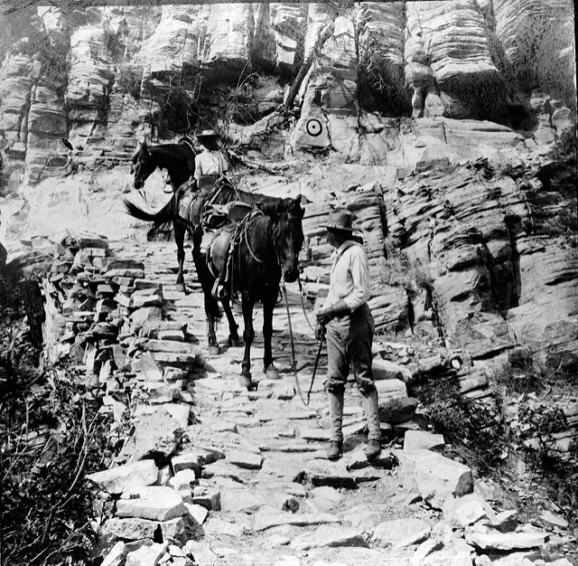The Grand View Trail in 1905.