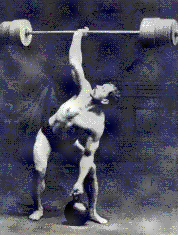 A trademark of the old-time strongman: performing feats while making it look easy. Leaving two reps in the tank allows you to gain strength while maintaining control and composure.