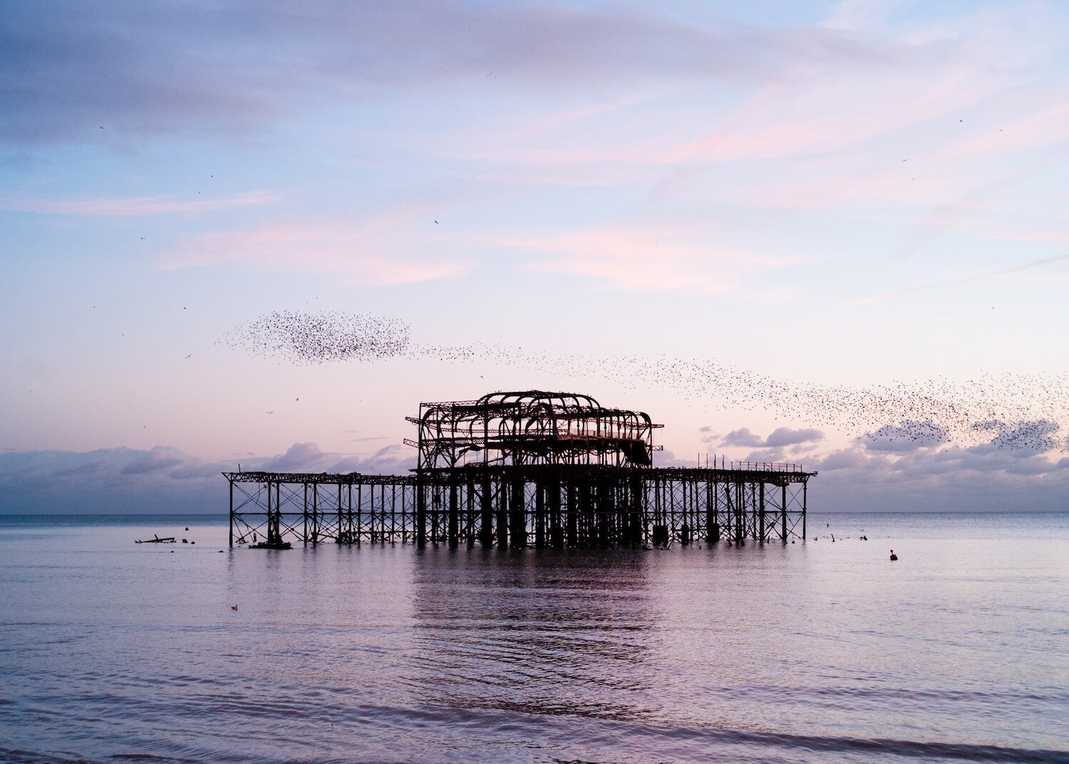 The West Pier is my absolute favourite part of the seafront - I was so sad to see her burn…bring her back!
