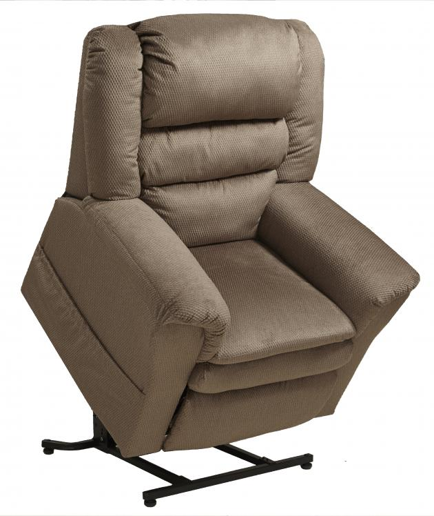Preston - • Padded Arms for Support and Comfort• Pillowtop Seat Provides Plush Seat• Power Lift Chair with 350 lbs. Weight Capacity• Soft and Durable Fabric• Comfort Coil Seating featuring Comfor-Gel