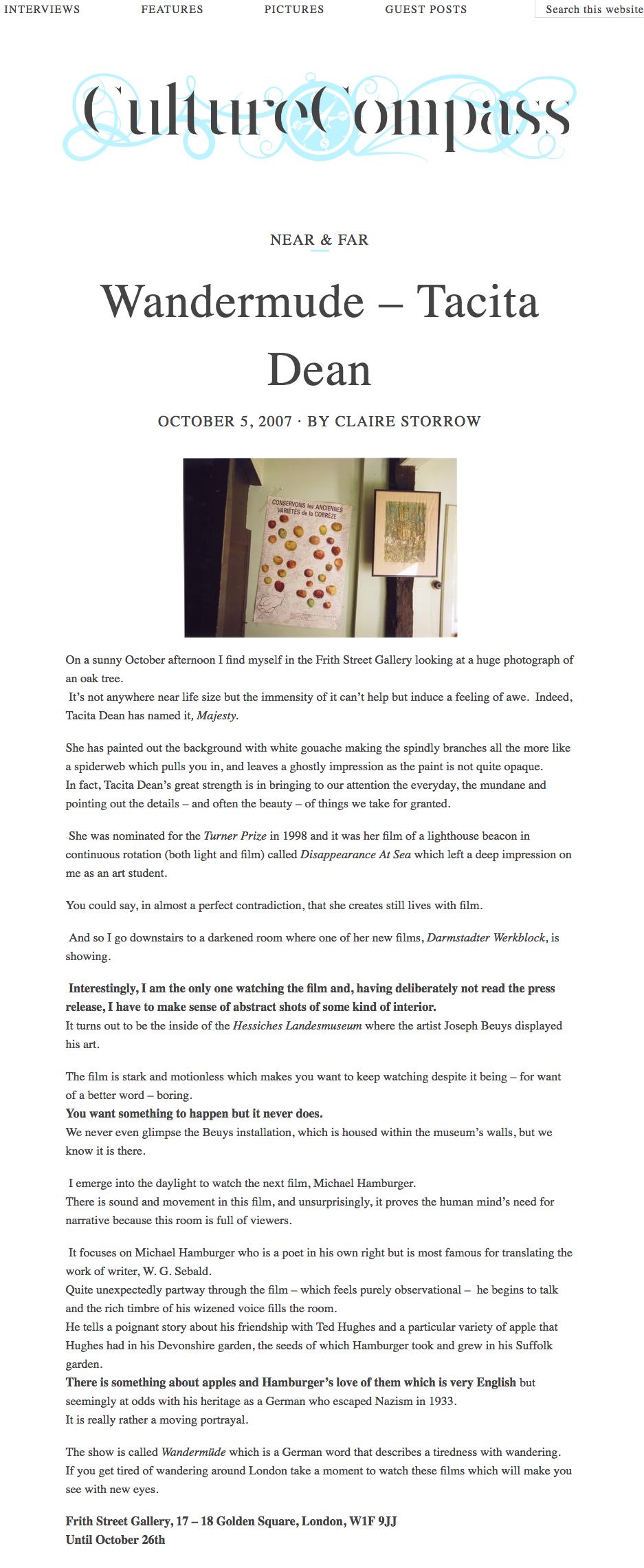 Wandermude - Tacita Dean   Frith Street Gallery   London Exhibition   Open Magazine   Tacita Dean copy.png