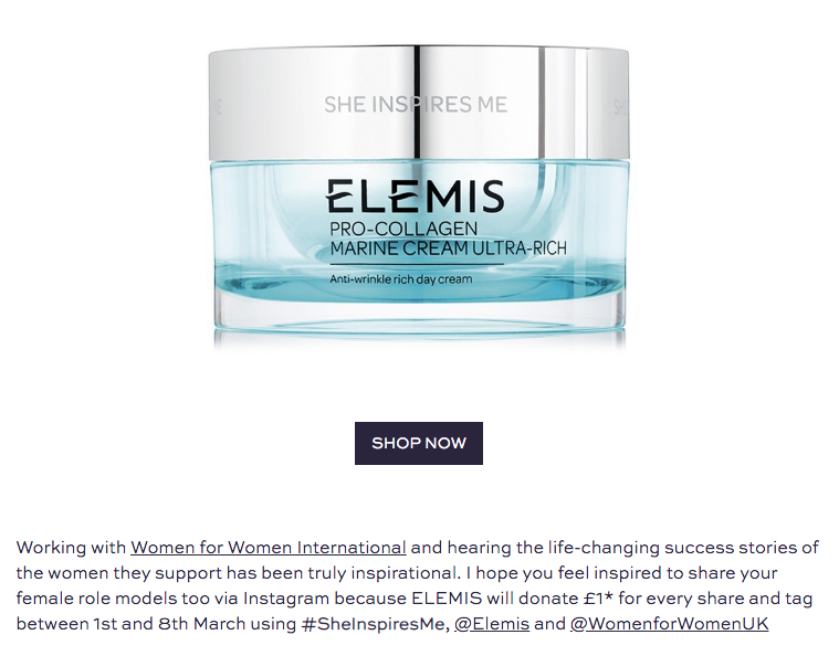 She Inspires Me ELEMIS Pro-Collagen Marine Cream limited edition.png