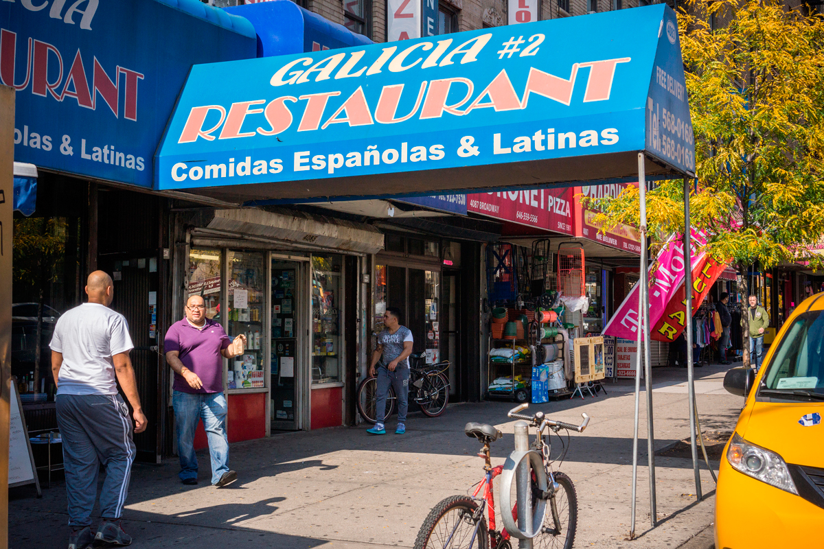As a beloved Washington Heights restaurant faces eviction, focus returns to the forever-stalled Small Business Jobs Survival Act - Image credit to Alamy via the Village Voice